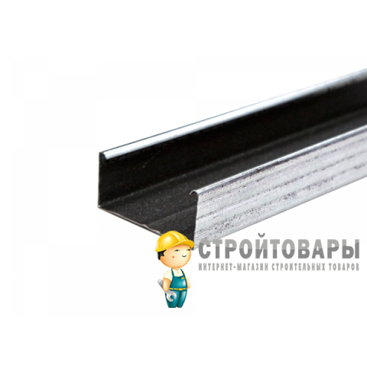 Вибронет-профиль ПН 100/40, длина 3м (гладкий)