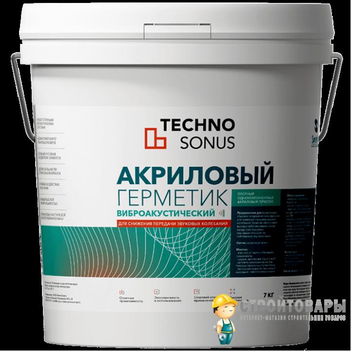 Акриловый герметик Сонетик 5 л
