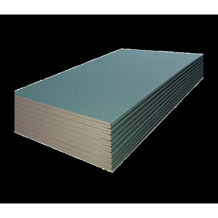 Кнауф  (ГКЛВ)  гипсокартонный лист влагостойкий 2500х1200х9,5 мм (3 м²)