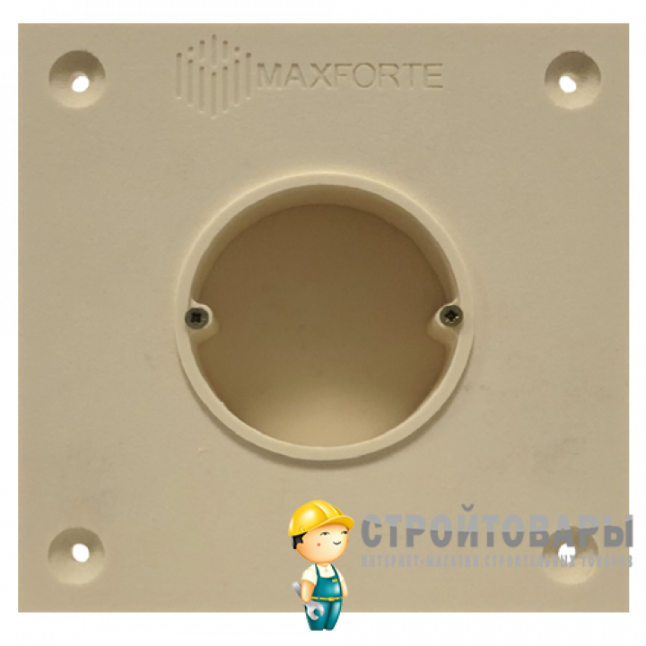 МаксФорте SoundBOX 1S звукоизоляционный подрозетник (1 секционный)
