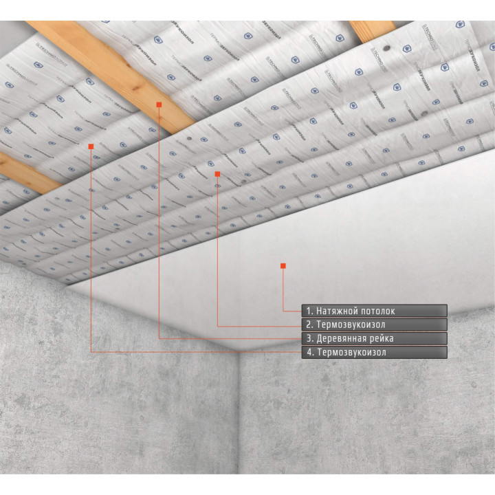Базовая система под натяжной потолок