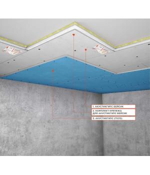 Система звукоизоляции под натяжной потолок «Слим А» ~2216 руб.