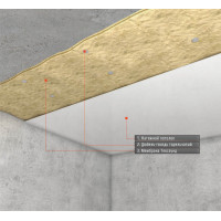"""Звукоизоляция под натяжной потолок """"Стандарт М"""" ~4506 руб."""