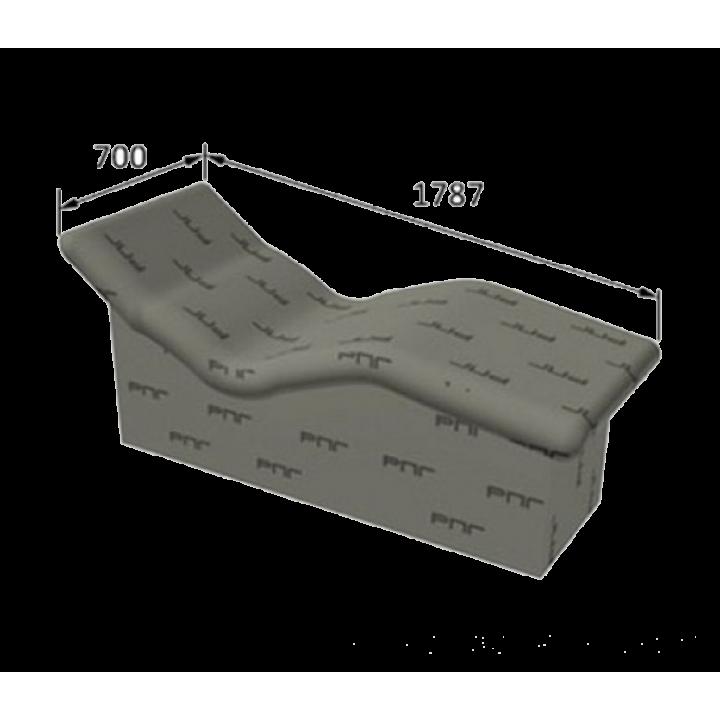 Ruspanel Corpo лежак для хамама