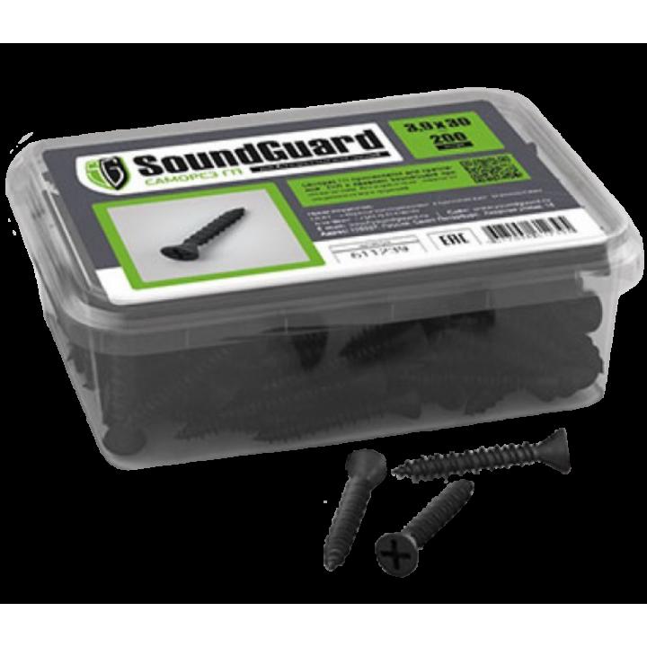 SoundGuard ГП 3,9х30 саморезы (200шт.)