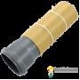 SoundGuard TubeZero Комплект для шумоизоляции труб