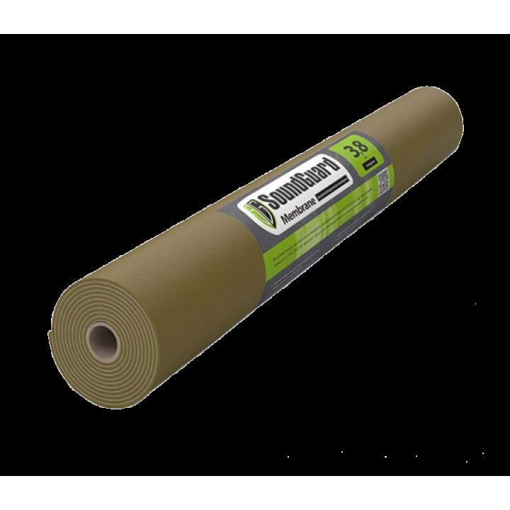 Мембрана SoundGuard Membrane 3.8 мм 2500*1200* 3.8 мм (3 м²), на бесклеевой основе