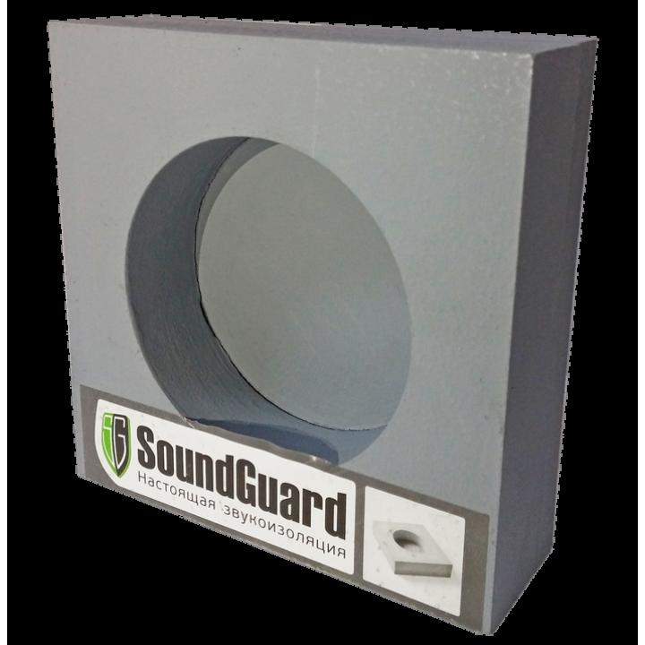 Звукоизоляционный подрозетник 1-секционный SoundGuard ИзоБокс1 Стандарт