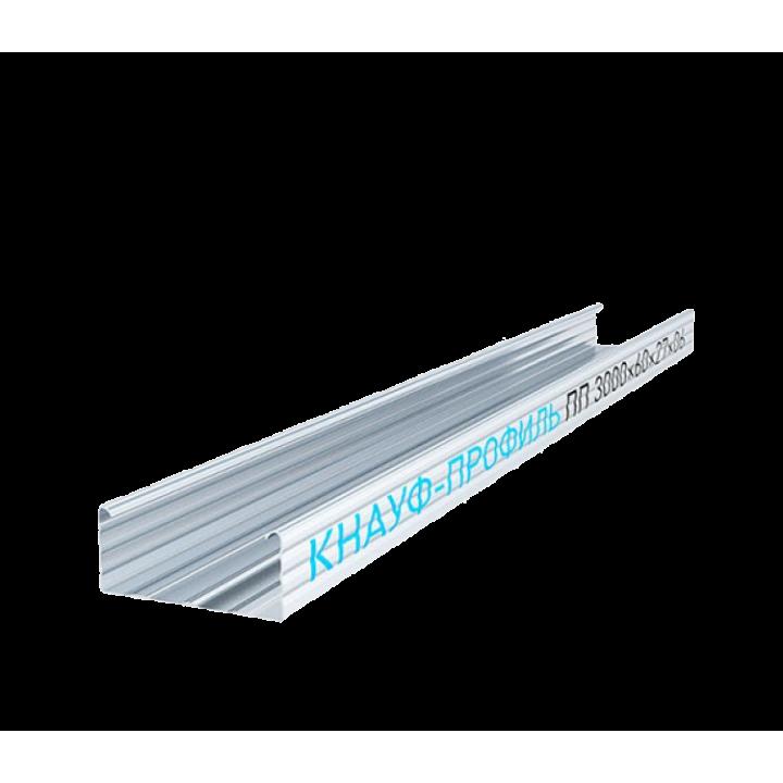 Knauf 60х27 мм 3 м 0.60 мм профиль потолочный