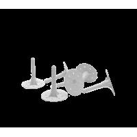 Дюбель-гвоздь тарельчатый