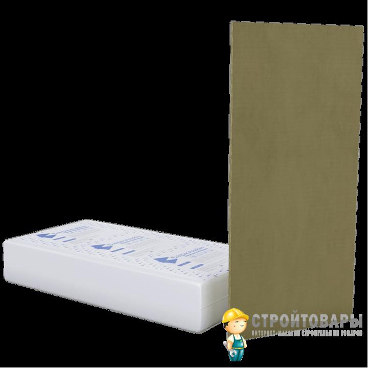 БасАкустик УНИ 20 вибро-звукопоглощающая плита 1250x600x20 мм (7,5м²) 10шт.